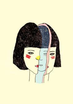 {Artwork: 'She Hides, She Seeks' by Bloody Kirka}
