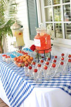 A Memorial Day celebration. Photography by Jennica Jo / jennicajophoto.com/, Design by Cherry Blossom Events / cherrybevents.com