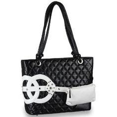 Fashion Quilted Wristlet Pocket Décor Soft Leatherette Shopper Tote Satchel Handbag Purse / Double Knotted Handles - Colors Available (Apparel) http://www.amazon.com/dp/B004QIZAAM/?tag=mnnean-20 B004QIZAAM