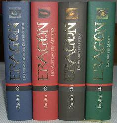 Eragon Band 1-4 komplette gebundene Ausgabe von Christopher Paolini