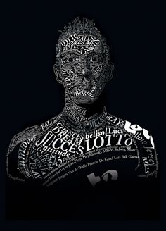 Lotto Belisol typographic ads by Ruben Andries, via Behance