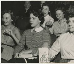 [Students Watching a Movie, 1955] :: UNCG University Archives