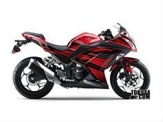 Decal Sticker Ninja 250 FI Merah – Stiker Modifikasi Kawasaki Ninja 250 FI (Fuel Injection)Reviewed by Admin on Jun 8.Rating:
