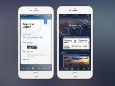 26 Innovative Mobile Travel App UI Design Concepts
