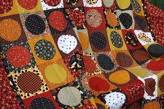 Make It... a Wonderful Life: Simple Circle Quilt Tutorial Part One