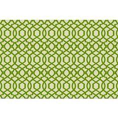 lime green Sultana Lattice fabric