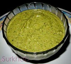 Spicy Green Chutney Recipe ..Serve with Hot Potato Tikka