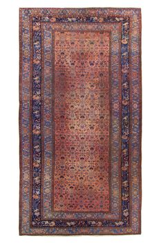 Persian Malayer Floral Rug - NL 14695 – Nomads Loom