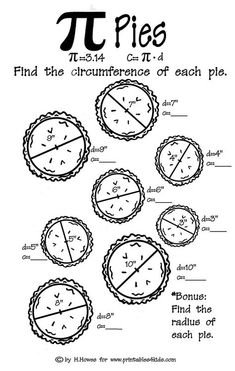 Just love Pi pies. Actually, I love pretty much any kind of pie...except cow pies.