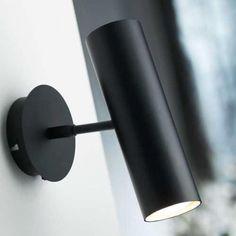 Stylischer MIB Wandspot in schwarz von NORDLUX 71689903 mit bis zu 7% Rabatt bei click-licht.de