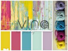 www.VlnaNaPredaj.sk: Farebné inšpirácie - ako kombinovať rôzne farby