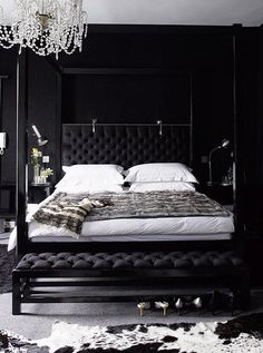 May moodboard: black, white and luxurious — The Decorista