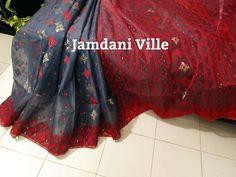 Chiffon Saree, Cotton Saree, Dhakai Jamdani Saree, Sarees, Tulle, India, Facebook, Skirts, Dresses