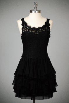 petites robes noires robe en dentelle robes de par Paulafashion, $50.00