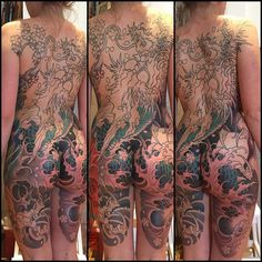 Dragon Backpiece in progression