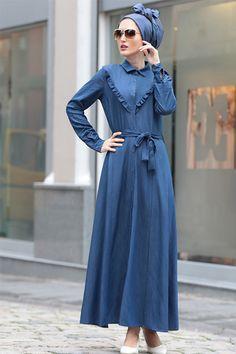 Selma Sarı Design Lacivert Kot Elbise 109.90 TL  http://alisveris.yesiltopuklar.com/selma-sari-design-lacivert-kot-elbise.html