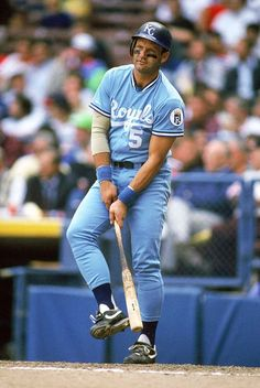 George Brett played for Kansas City. Try to stretch a single into a double. Best  Baseball ... dc4c0286d