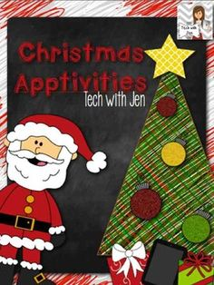 FREEBIE!!!! Several apps that will provide tons of holiday fun for you and your students. Happy Holidays from Tech with Jen.
