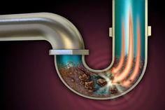 Ezzel a módszerrel mindenapró lerakódást, élelmiszerdarabkákat, zsírt eltávolíthatsz a cső belsejéből!