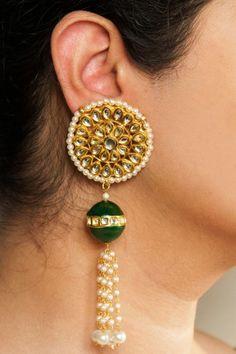 Fashion Earrings   Jhumkas   Chandballis   IndiaInMyBag.com #IndianJewellery #OnlineShopping