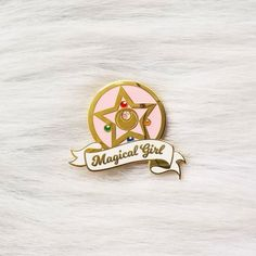 Evil Disney, Bag Pins, Kawaii Jewelry, Nerd Fashion, Everything Pink, Pin And Patches, Cute Pins, Moon Art, Magical Girl