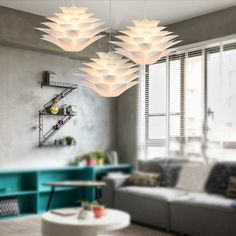 Find More Pendant Lights Information about Modern Lily Flowers Lustre Pendant Lights PVC Lotus Lampshade DIY Pendant Lamp LED hanging lamp light fixtures luminarias E27,High Quality lamp festival,China light cm Suppliers, Cheap lamp g4 from Zhongshan East Shine Lighting on Aliexpress.com