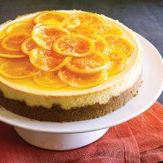 22 Thanksgiving desserts   Orange Ribbon Cheesecake   Sunset.com