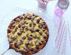 Der beste Kuchen: Käsekuchen! Hier kommt die perfekte Mischung aus Cheesecake, Frucht und Schokolade: Der Cherrycheesecake.