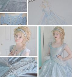 Self-Taught Teen Sews and Models Her Own Beautiful Historically-Inspired Dresses - My Modern Met
