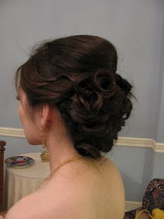 Bridal Hair! :)   bubbles and beauty