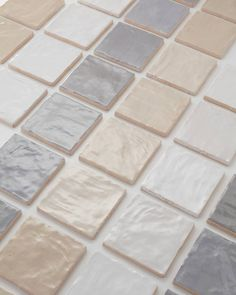 Perfectly imperfect. The Riad tiles feature unique texture and beautiful color variation... what more could you ask for?🌟 Pebble Floor, The Tile Shop, Bathroom Tile Designs, Tiles Texture, Perfectly Imperfect, Design Consultant, Bathroom Inspiration, Free Design, Metallic