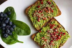 Avocado Superfood Breakfast Toast