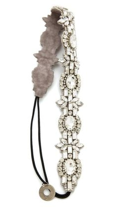 Deepa Gurnani Opulent Crystal Headband from Shopbop