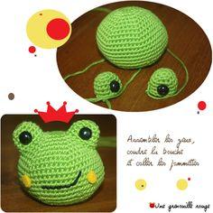 pattern frog