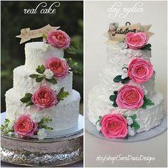 Wedding cake ornament