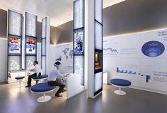Gallery of The Savings Museum / Migliore + Servetto Architetti Associati - 6 Display Design, Booth Design, Store Design, Exhibition Display, Exhibition Space, Interactive Display, Museum Displays, Design Museum, Exhibit Design
