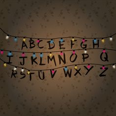 Image Result For Stranger Things Alphabet Channeling My