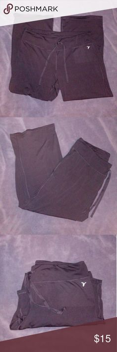 "🌸BUY 1 GET 1 FREE -ATHLETIC PANTS My camera does not take the best pictures to pick up the dark colors but these are black. STRETCHY AND OH SO COMFY!! Must bundle with another buy 1 get 1 item to get the 2nd pair free. They are in GREAT condition! Have an almost ""slinky"" type material. Picture of the fabrics used are above. MUST Bundle to get BUY 1 GET 1. Pants"