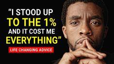 Chadwick Boseman's Life Advice Will Leave You SPEECHLESS   RIP 'Black Pa...