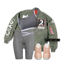 """""""Untitled #1465"""" by stylebyindia ❤ liked on Polyvore featuring H&M and Reebok"""