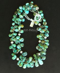 Vintage Turquoise, Turquoise Stone, Turquoise Jewelry, Jewelry Sites, Jewelry Art, Jewellery, Chunky Jewelry, Southwest Jewelry, Family Jewels