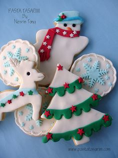 2010 NEW YEAR (CHRISTMAS) COOKIES http://pastatasarim.blogspot.com