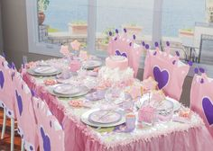 Our Crown Chair Covers will add the perfect touch to your #Princess party.