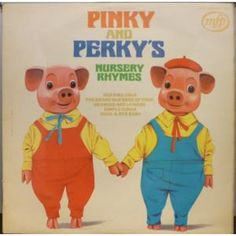 Pinky And Perky* - Pinky And Perky's Nursery Rhymes 1970s Childhood, My Childhood Memories, Retro Toys, Vintage Toys, Arduino, Home Music, Thing 1, Kids Tv, My Youth