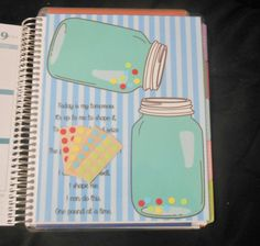 Mason Jar Weight Loss Insert for Erin Condren Life Planner by KeyCustomCreations loose weight planner Fast Weight Loss Diet, Best Weight Loss Program, Weight Loss Meal Plan, Easy Weight Loss, Healthy Weight Loss, Help Losing Weight, Need To Lose Weight, Loose Weight, Xls Medical