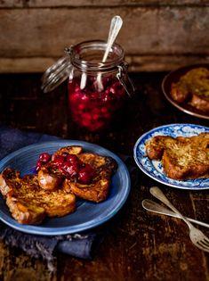 Wentelteefjes met Terschellinger cranberrycompote