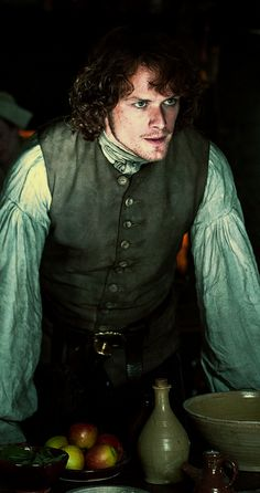 Jamie Fraser. begging your pardon laird Broch Turarach. He's the laird dammit