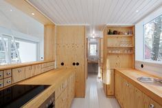 scandinavian retreat.: Forest house