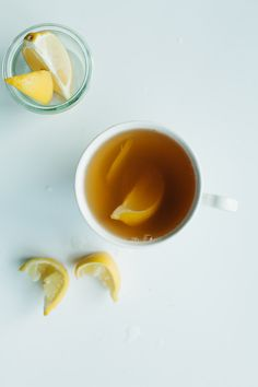 Looks like a great twist on a traditional Hot Toddy   Hot Ginger Toddy // Not Without Salt