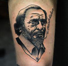#Bukowski #tattoo by Philip Yarnell <3